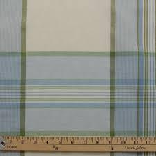 Gingham Kitchen by Pastel Blue Green Tartan Window Pane Check Kitchen Gingham Cotton