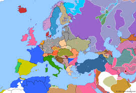 map of europe russia and the independent republics armistice day historical atlas of europe 11 november 1918