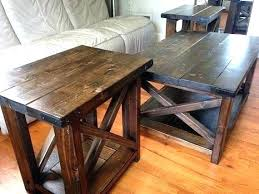 farmhouse coffee and end tables rustic reclaimed round end table driftwood farmhouse side rustic