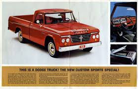 Old Ford Truck Kijiji - truckstop classic 1967 dodge d 200 camper special we u0027re number