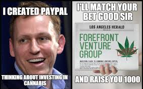 Group Message Meme - venture group stuns mmj industry and paypal co founder by announcing