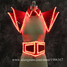 led luminous lady dress illuminated led light up ballroom