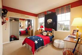 Red Bedroom For Boys Bedrooms For Two Boys