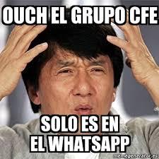 Ouch Meme - meme jackie chan ouch el grupo cfe solo es en el whatsapp 15103056