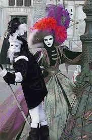 venetian jester costume carnival in venice
