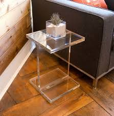 clear plastic bedside table clear acrylic side table home design ideas