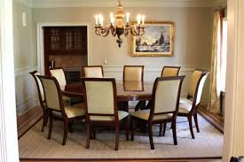 22 round glass top dining room table sets walnut finish 5pc