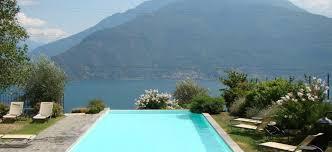 luxury agriturismo with pool overlooking lake como