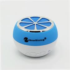 factory supplier portable mini bluetooth speakers lemon shape
