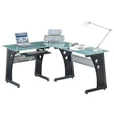 l shaped computer desk office depot office design glass top office desk glass top office desk canada