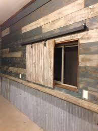 Reclaimed Barn Door Hardware by My Garage Man Cave Used Reclaimed Barn Wood And Door Hardware