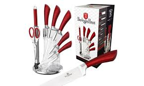 berlinger haus 7 piece knife set groupon goods