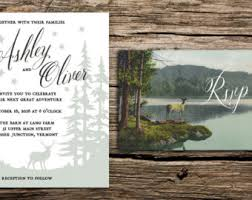 forest wedding invitations aspens paint by number wedding invitation suite colorado