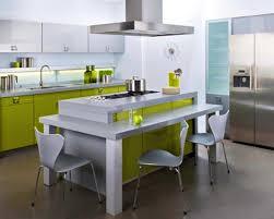 ilot de cuisine avec table amovible ilot central table escamotable amazing ilot central table