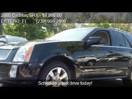cadillac srx 2005 for sale 2005 cadillac srx v8 for sale in estero fl 33928 at estero
