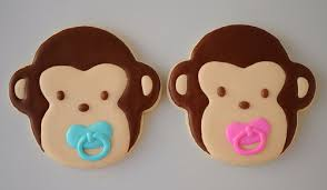 monkey baby shower theme baby shower favors