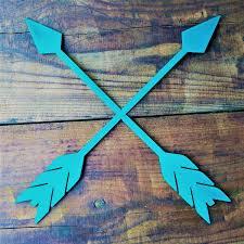 metal arrows tribal arrows boho decor arrow wall art arrow