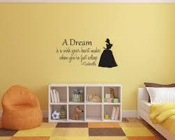 Schlafzimmer Cinderella Premium Cinderella Wandtattoo Vinyl Wandaufkleber Für Kinderzimmer Baby