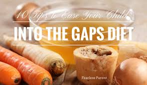 10 tips to ease your child into the gaps diet