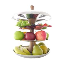 Fruit Bowl by Stylish Stainess Steel Fruit Bowl