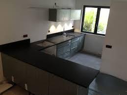 plan de travail cuisine noir paillet plan de travail cuisine granit noir granit noir finition