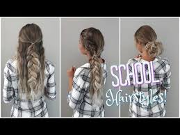 hairstyles for back to school short hair 3 quick and easy hairstyles for short hair no heat required