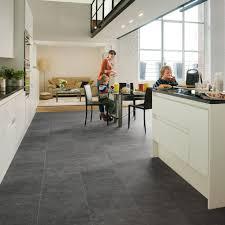 Laminate Flooring Direct Hillington Quick Step Exquisa Slate Dark Tile Exq1552
