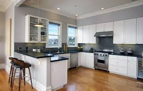 gray kitchen countertops with white cabinets white kitchen cabinets with granite countertops designing idea
