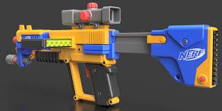 nerf car gun nerf blaster autodesk online gallery
