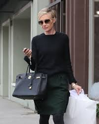 portias hair line portia de rossi boatneck sweater portia de rossi short hair and