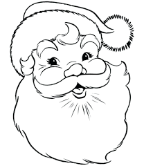 Free Santa Claus Coloring Pages Coloring Pages Of Free Free Santa Happy Coloring Pages