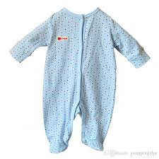 2017 summer 2017 newborn baby clothes blue baby rompers