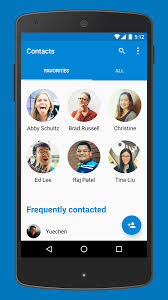 contacts app android update back again has published the phone and contacts