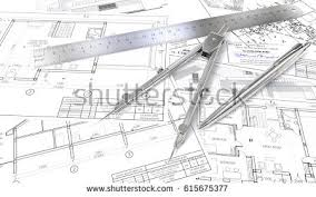 architectural building plans building plans generic architectural blueprints drawings stock