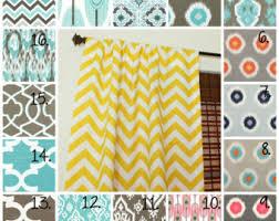 Teal Nursery Curtains Nursery Curtain Panels Elephant Drapes Giraffe Curtain Panels