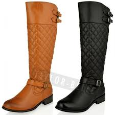womens boots quilted best quilted boots for photos 2017 blue maize