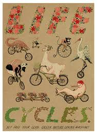 bicycle wrapping paper poppy gall design studio bicycle