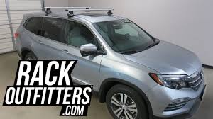 Luggage Rack For Honda Odyssey by 2017 Honda Pilot With Thule Rapid Traverse Aeroblade Roof Rack