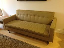 moss bantam sofa dwr eames influenced mid century in clinton hill