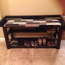 Build A Shoe Storage Bench by 19 Pallet Shoe Rack Guide Patterns