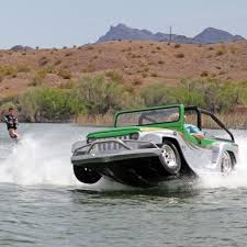 amphibious jeep wrangler panther watercar world u0027s fastest amphibious vehicle the green head