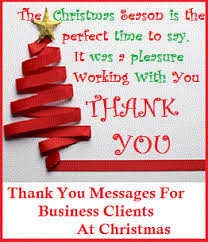 christmas messages messages business