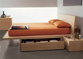 Build Platform Bed Storage Under by Best 25 Wooden Storage Beds Ideas On Pinterest Bedding Storage