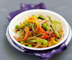 recette cuisine wok recette de cyril lignac wok de légumes à la sauce soja
