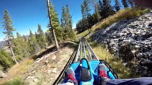 Vail Mountain Map Vail Mountain Coaster No Brakes Youtube