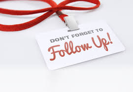 follow up your online job application with snail mail follow up