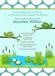 frog baby shower top 13 frog baby shower invitations which viral in 2017