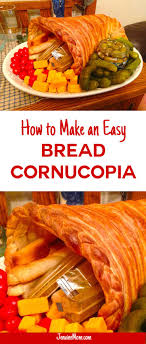 bread cornucopia for thanksgiving easy festive easy bread and