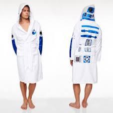 robe de chambre disney adulte peignoir de bain polaire adulte r2 d2 groovy uk liberty toys