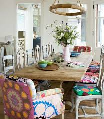 Best Bohemian Dining Images On Pinterest Dining Room - Funky kitchen tables and chairs
